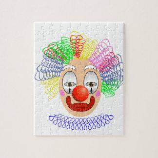 97Clown Head_rasterized Jigsaw Puzzle
