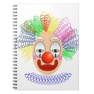 97Clown Head_rasterized Notebooks