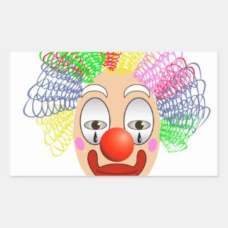 97Clown Head_rasterized Sticker