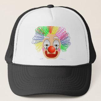 97Clown Head_rasterized Trucker Hat