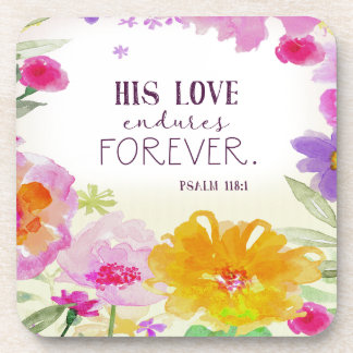982.his love endures forever coaster