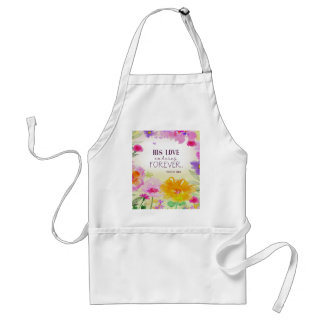982.his love endures forever standard apron