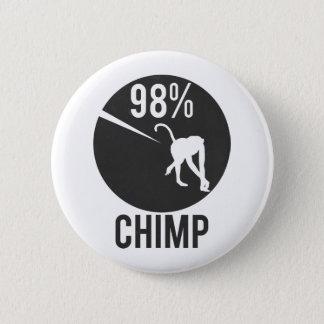98% chimp 2 inch round button