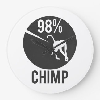 98% chimp large clock
