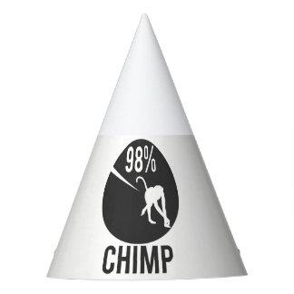 98% chimp party hat