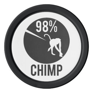 98% chimp poker chips