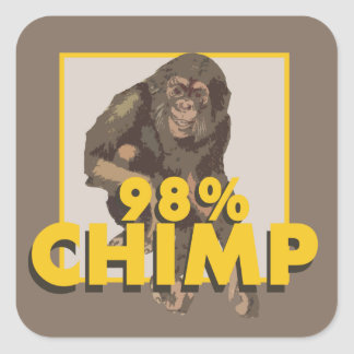 98% Chimp Sticker