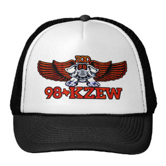 98 KZEW Burnt Orange ZOO Trucker Hat