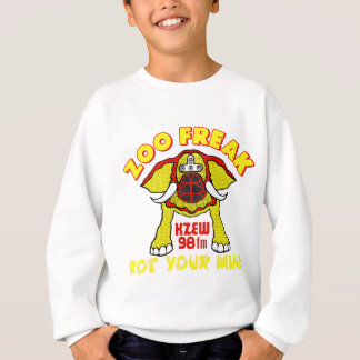 98 KZEW ZOO FREAK Red & Yellow Sweatshirt