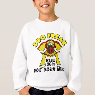 98 KZEW ZOO FREAK Yellow & Black Sweatshirt