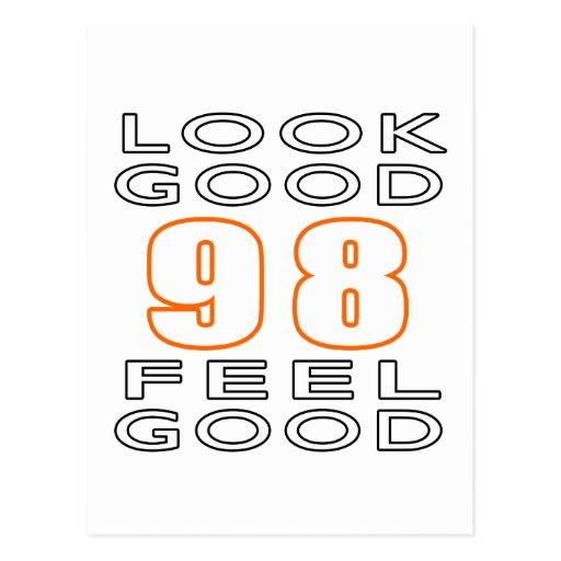 98 Look Good Feel Good Postcard