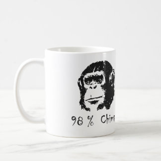 98 Percent Chimp Mug