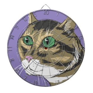98Cat Head_rasterized Dartboard