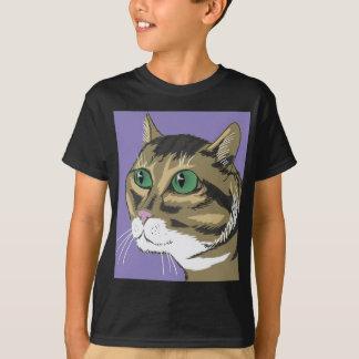 98Cat Head_rasterized T-Shirt