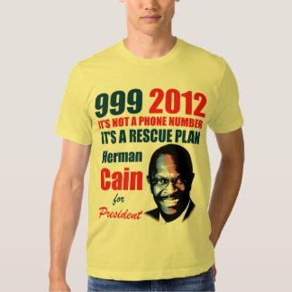 999 Herman Cain 2012 Tshirt