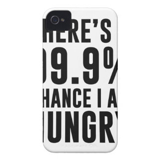 99.9 Chance I'm Hungry iPhone 4 Case