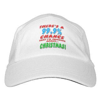 99.9% CHRISTMAS (blk) Hat