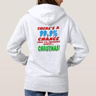 99.9% CHRISTMAS (blk) Hoodie