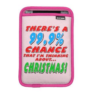99.9% CHRISTMAS (blk) iPad Mini Sleeve