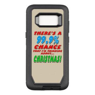 99.9% CHRISTMAS (blk) OtterBox Defender Samsung Galaxy S8 Case
