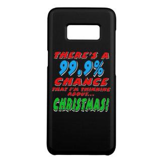 99.9% CHRISTMAS (wht) Case-Mate Samsung Galaxy S8 Case