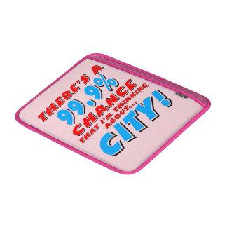 99.9% CITY (blk) MacBook Sleeve