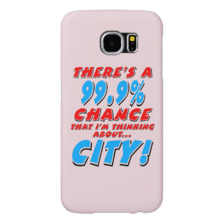 99.9% CITY (blk) Samsung Galaxy S6 Cases