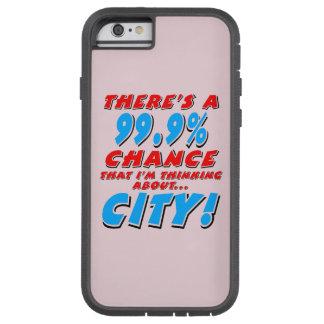 99.9% CITY (blk) Tough Xtreme iPhone 6 Case