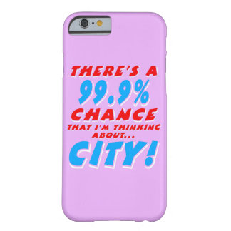 99.9% CITY (wht) Barely There iPhone 6 Case