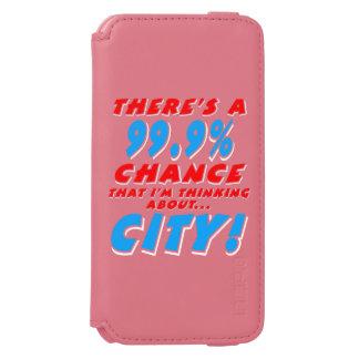 99.9% CITY (wht) Incipio Watson™ iPhone 6 Wallet Case