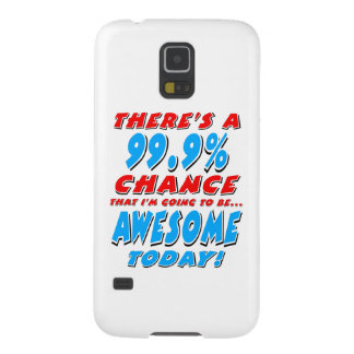 99.9% GOING TO BE AWESOME (blk) Case For Galaxy S5