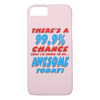 99.9% GOING TO BE AWESOME (blk) iPhone 8/7 Case
