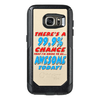 99.9% GOING TO BE AWESOME (blk) OtterBox Samsung Galaxy S7 Case