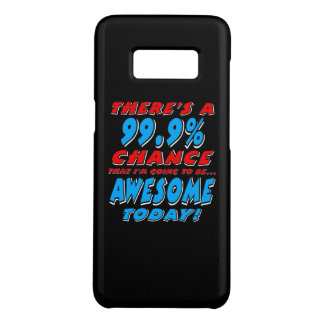 99.9% GOING TO BE AWESOME (wht) Case-Mate Samsung Galaxy S8 Case