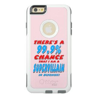 99.9% I am a SUPER VILLAIN (blk) OtterBox iPhone 6/6s Plus Case