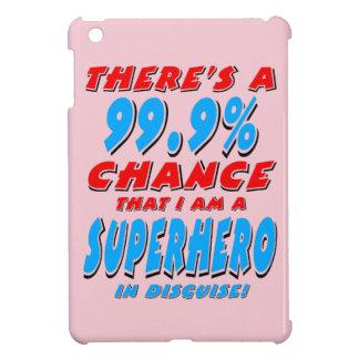 99.9% I am a SUPERHERO (blk) Cover For The iPad Mini