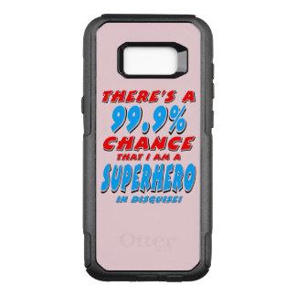 99.9% I am a SUPERHERO (blk) OtterBox Commuter Samsung Galaxy S8+ Case
