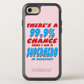 99.9% I am a SUPERHERO (blk) OtterBox Symmetry iPhone 8/7 Case