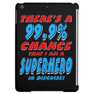 99.9% I am a SUPERHERO (wht) iPad Air Cases