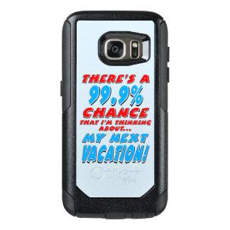 99.9% NEXT VACATION (blk) OtterBox Samsung Galaxy S7 Case