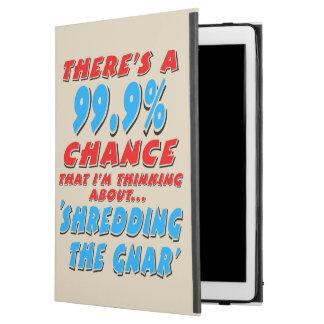 "99.9% SHREDDING THE GNAR (blk) iPad Pro 12.9"" Case"