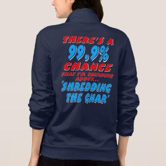99.9% SHREDDING THE GNAR (wht)