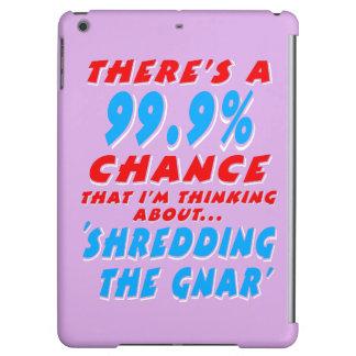 99.9% SHREDDING THE GNAR (wht) iPad Air Cover