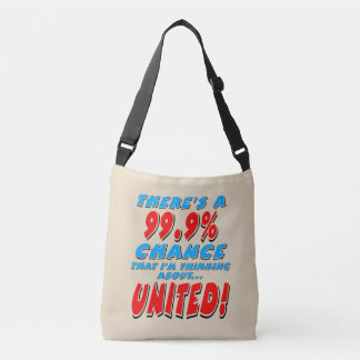 99.9% UNITED (blk) Crossbody Bag