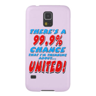 99.9% UNITED (blk) Galaxy S5 Case