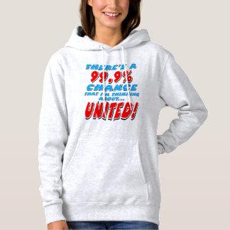 99.9% UNITED (blk) Hoodie