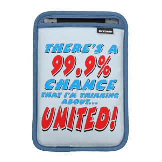 99.9% UNITED (blk) iPad Mini Sleeve