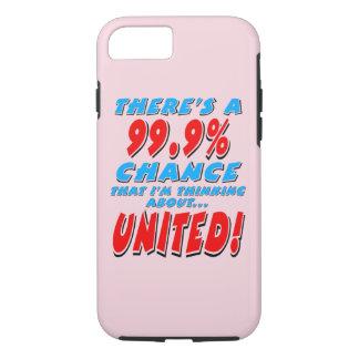 99.9% UNITED (blk) iPhone 8/7 Case