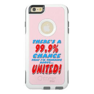 99.9% UNITED (blk) OtterBox iPhone 6/6s Plus Case