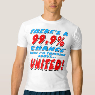 99.9% UNITED (blk) T-shirt
